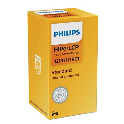 PW24W Philips Vision Standart  HPSL 2A -  12197HTRC1